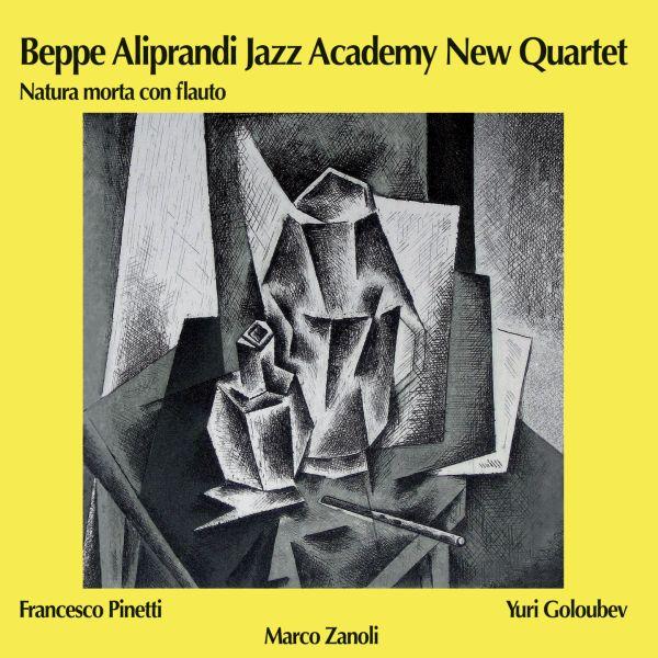Beppe Aliprandi 'Natura morta con flauto'