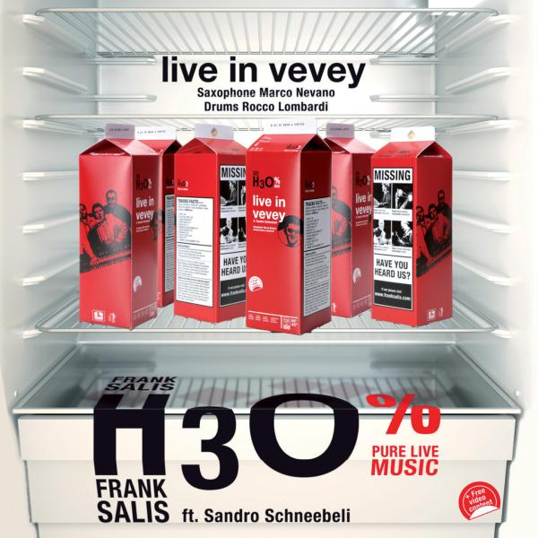Frank Salis H3O - Live in Vevey