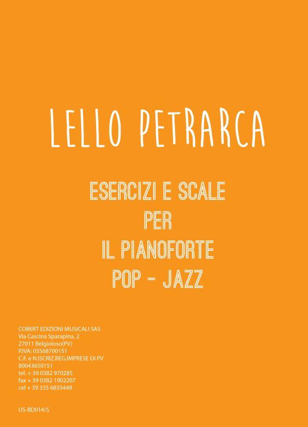 Lello Petrarca Esercizi e scale per il pianoforte