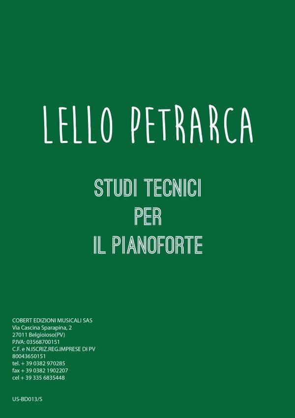 Lello Petrarca Studi tecnici per il pianoforte